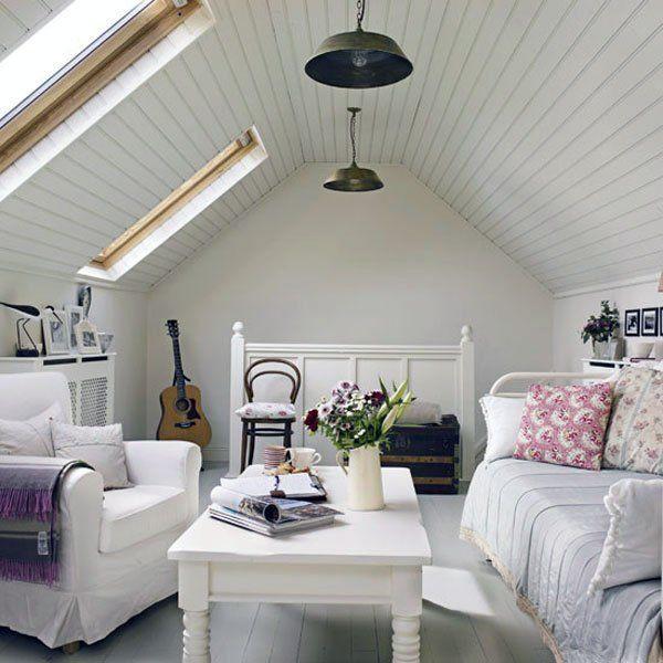 İşte birbirinden güzel çatı katı dekorasyonları... - Sayfa 1