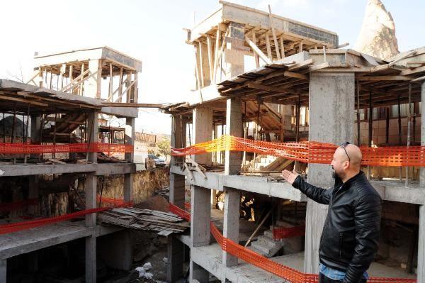 Peribacaları'ndaki otelin yıkımına başlandı! - Sayfa 2