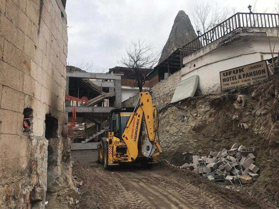 Peribacaları'ndaki otelin yıkımına başlandı! - Sayfa 4
