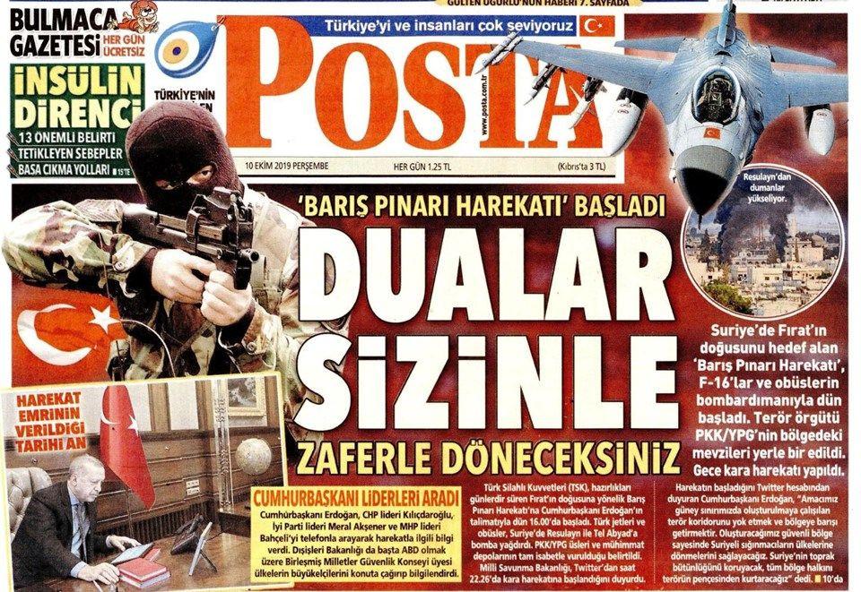 Gazeteler Türkiye'nin harekatını nasıl gördü? - Sayfa 3