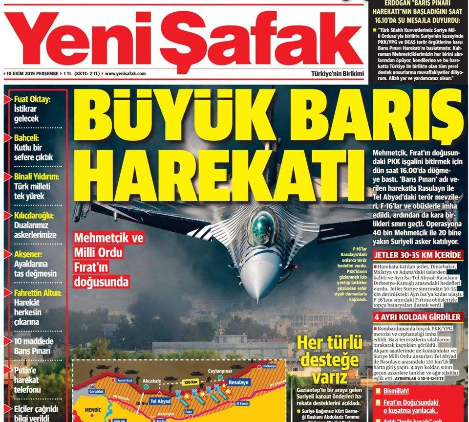 Gazeteler Türkiye'nin harekatını nasıl gördü? - Sayfa 4
