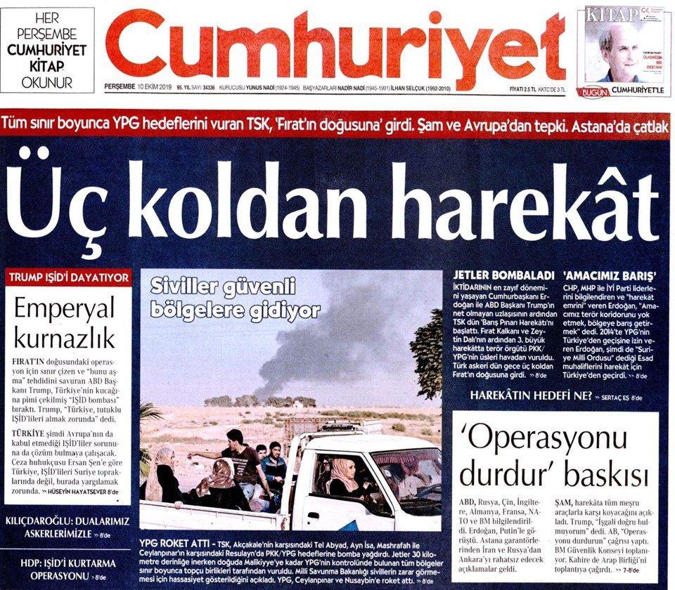 Gazeteler Türkiye'nin harekatını nasıl gördü? - Sayfa 2