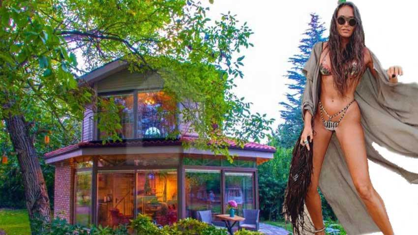 Eda Taşpınar Sapanca'da villa kiraladı! Koronadan kaçmak için...