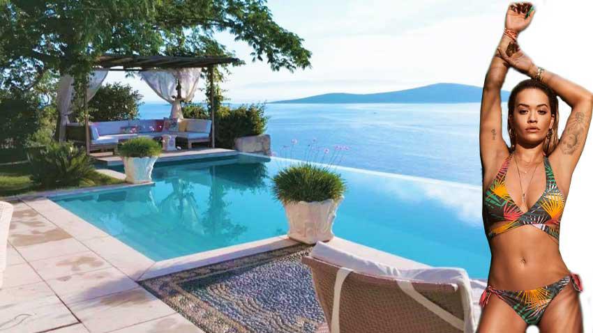 Dünyaca ünlü şarkıcı Rita Ora Bodrum'da villa satın aldı! Kaça?