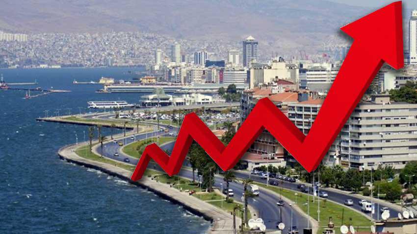 İzmir'de konut fiyatları arttı! 150 kent arasında en çok artış sıralamasında ikinci oldu